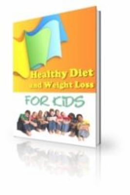 Product picture Healthy Diet And Weight Loss For Kids